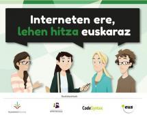 Interneten ere, lehen hitza euskaraz