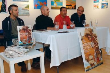 Guillermo Gonzalez, Dani Fano, David Zapirain eta Koldo Tellitu