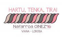 Nafarroa Oinez 2016ren logoa