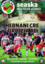 Hernani-Ordizia errugbi partida